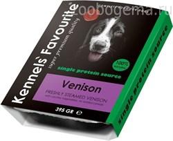 Kennels` Favourite 100% Venison 395 gr - фото 8848