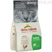 ALMO NATURE Holistic Для кошек контроль вывода шерсти с курицей и рисом, Functional Adult Anti-Hairball Chicken and Rice