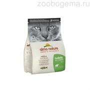 ALMO NATURE Holistic Для кошек контроль вывода шерсти с рыбой и картофелем, Functional Adult Anti-Hairball Fish and Potatoes