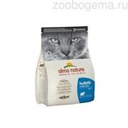 ALMO NATURE Holistic  Для кастрированных кошек с лососем и рисом, Functional Adult Sterilised Salmon and Rice