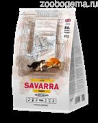 SAVARRA Adult Large Cat Сухой корм для взрослых кошек крупных пород 2 кг индейка