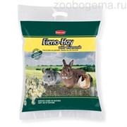 Сено FIENO HAY луговые травы с ромашкой д/грызунов и кроликов (700г)