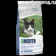 Bozita Outdoor&Active, сух. пит. д/растущих взрослых активных кошек с лосем 2 кг