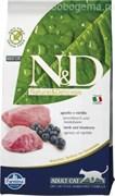 N&D CAT LAMB & BLUEBERRY ADULT 1,5 KG