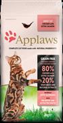 "Applaws Беззерновой для Кошек ""Курица и Лосось/Овощи: 80/20%"" (Dry Cat Chicken & Salmon) 400гр"