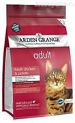 Ардэн Грэньдж Корм сухой беззерновой, для взрослых кошек, с курицей и картофелем ( 4 кг.) AG Adult Cat (GF) Chicken & Potato