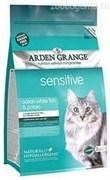Ардэн Грэньдж Корм сухой беззерновой, для взрослых кошек с деликатным желудком и/или чувствительной кожей ( 2 кг.) AG Adult Cat Sensitive (GF)