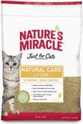 Nature's Miracle наполнитель кукурузный NM Premium Natural Care для кошачьего туалета комкующийся 4,5 кг (10 л)