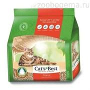 Наполнитель Cat's Best Original 10л*4,3кг Древесный комкующийся