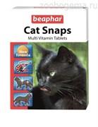 Beaphar Cat snaps комплексная пищевая добавка д/кош. таб №75