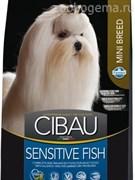 CIBAU SENSITIVE FISH MINI 2,5 KG