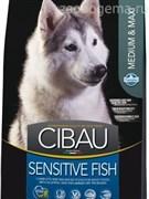 CIBAU SENSITIVE FISH MEDIUM /MAXI 12 KG