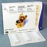 Стронгхолд 12% 0,25мл (30мг для собак 2,6-5 кг №3)