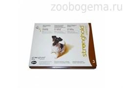 Стронгхолд 12% 0,5мл (60мг для собак 5.1кг-10кг №3)