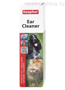 Beaphar Ear-Cleaner лосьон для ухода за ушами у кошек и собак 50мл
