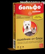 Ошейник Больфо д/мелких собак и кошек, 38см