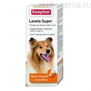 Beaphar 12554 Laveta super витамины д/собак для шерсти,  50мл.