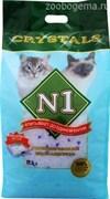 N1 Crystals наполнитель для кошачьего туалета силикагель