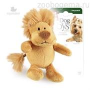 GiGwi Игрушка для собак Лев с пищалкой.Размер: 10 см.