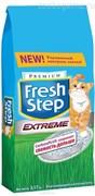 """Наполнитель  """"FRESH  STEP""""    3,17кг/6л.   тройная защита от запаха"""