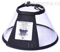 Воротник защитный пластиковый на липучке, 12,5см