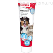 Beaphar 13223  Dog-A-Dent зубная паста д/собак и кошек 100гр со вкусом печени