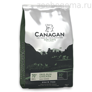 CANAGAN GF Free-Run Chicken корм 1.5кг д/кошек, Цыпленок
