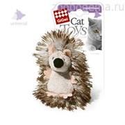 GiGwi Игрушка для кошки Ёжик с погремушкой.Размер 7 см.
