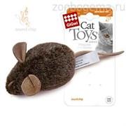 GiGwi Игрушка для кошки Мышка с музыкальным механизмом.Размер: 15 см.