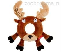 GiGwi Игрушка для собак Лось с пищалкой Размер: 19 см.