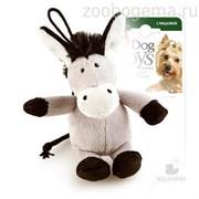 GiGwi Игрушка для собак Ослик с пищалкой.Размер: 10 см.