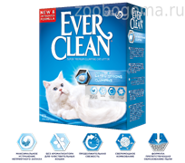 EVER CLEAN Extra Strong Clumping Unscented - наполн. комкующ. без ароматизатора  д/кош. 6л