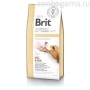 Брит 12 кг  VDD Hepatic беззерновая диета при печеночной недостаточности д/собак, 528158