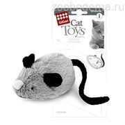 GiGwi Игрушка для кошки Интерактивная мышка.Размер: 19 см.