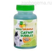 Мыльные пузыри для кошек с кошачьей мятой