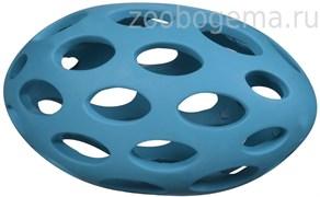 Игрушка д/собак - Мяч для регби сетчатый, каучук, средняя Sphericon Dog Toy. medium