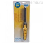 JW65022 GripSoft SHEDDING COMB расческа для собак с длинными и короткими зубьями