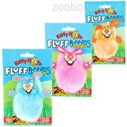 """Игрушка д/кошек - """"Пушистый кролик"""", мягкая,, Fluff Bunnies Cat Toy (650554)"""