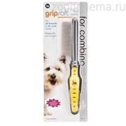 JW65021 Grip Soft Dog Fine Comb Расческа для собак с частыми зубьями