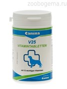 CANINA cобаки V25 витамины для щенков 200гр