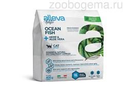 Аллева Холистик для взрослых кошек с океанической рыбой, коноплей и алое вера 1,5 кг/ALLEVA HOLISTIC CAT ADULT OCEAN FISH 1,5 KG