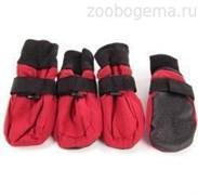 Ботинки 4 My Pets ( 4 Май Петс) с мягкой подошвой красные р. S