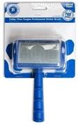 SHOW TECH сликер выгнутый средней жесткости, с зубцами средней длины 10х6 см
