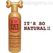 """Шампунь """"100% натуральный"""" для собак с маслом овсянки, жожоба, без сульфатов и парабенов"""