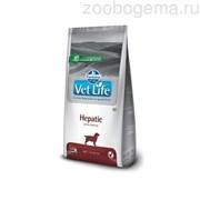 VET LIFE NATURAL DIET DOG HEPATIC 12 KG
