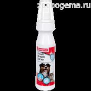 BEAPHAR Спрей Fresh Breath Spray для чистки зубов и освежения дыхания у собак