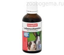 Beaphar 13173/11484 Lebensvitamine Витамины д/грызунов 50мл