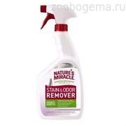 Универсальный уничтожитель пятен и запахов Лаванда для кошек, спрей, 946мл NM Cat Stain&Odor Remover Spray Lav 32oz