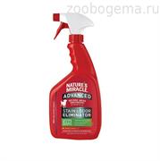 Уничтожитель пятен и запахов с усиленной формулой Лимон для собак, спрей, 946мл NM ADV Dog S&O Elimin Spray Lemon 32 oz