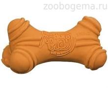 Игрушка д/собак - Кость трёхгранная, латекс с наполнителем, запах бекона, большая Dura Play Bone - Large